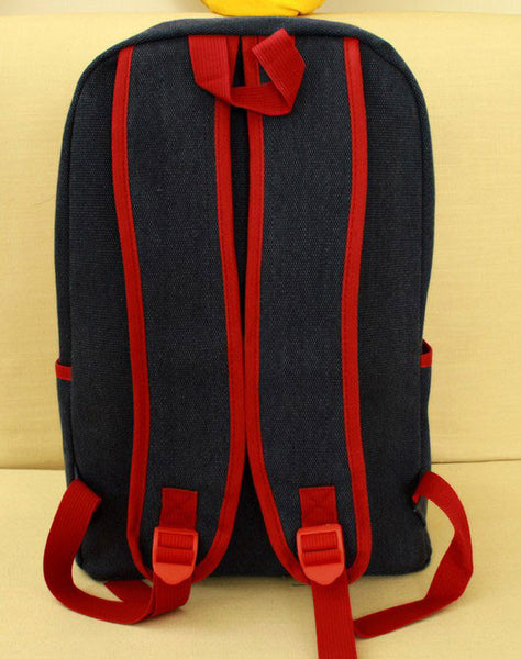 New American Flag Rivet Canvas Backpack - lilyby