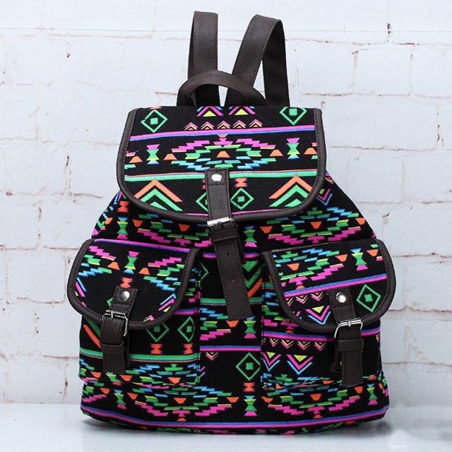 Folk National Fashion Totem Pattern Backpacks - lilyby