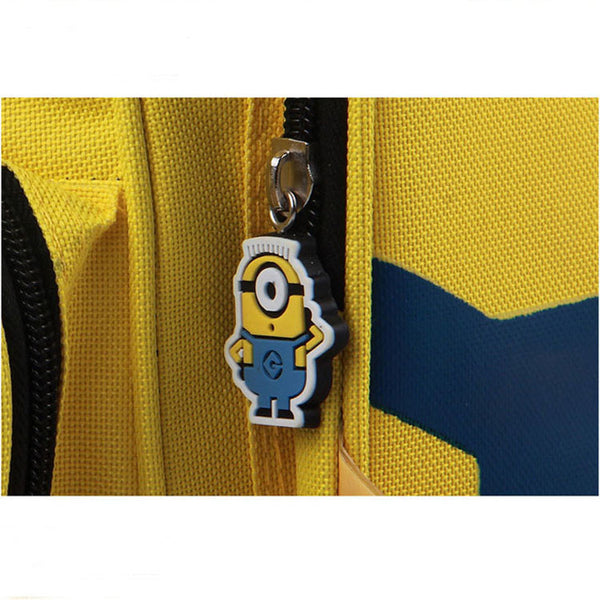 Cute Simple One Eye Minions Cartoon Backpack - lilyby