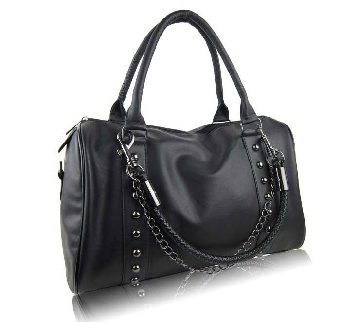 Punk Fashion Rivet Twisted  Handbag& Messenger bag - lilyby