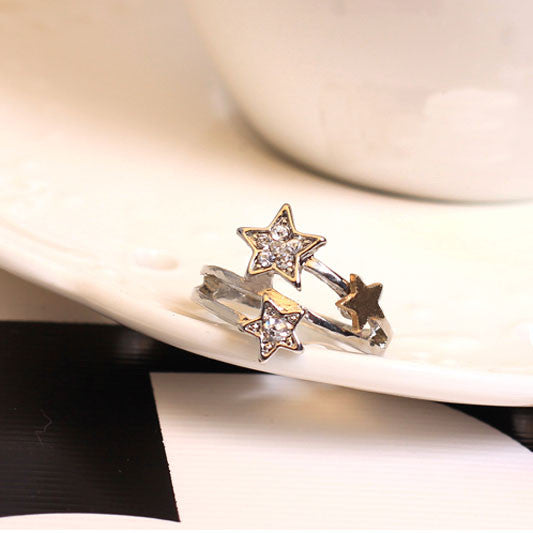 New Rhinestone Meteor Shower Rings - lilyby