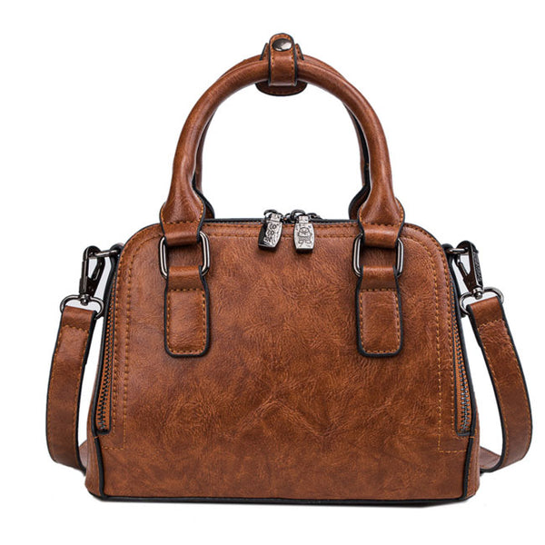 Elegant Pillow Lady Simple Handbag Women Shoulder Bag