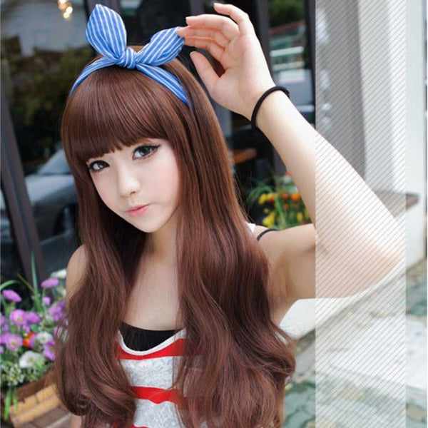 New Cosplay Pretty Wavy Hair Wigs - lilyby