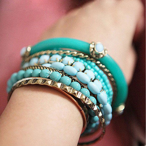Latest Ocean Bohemia Pearl Multilayer Bracelet - lilyby
