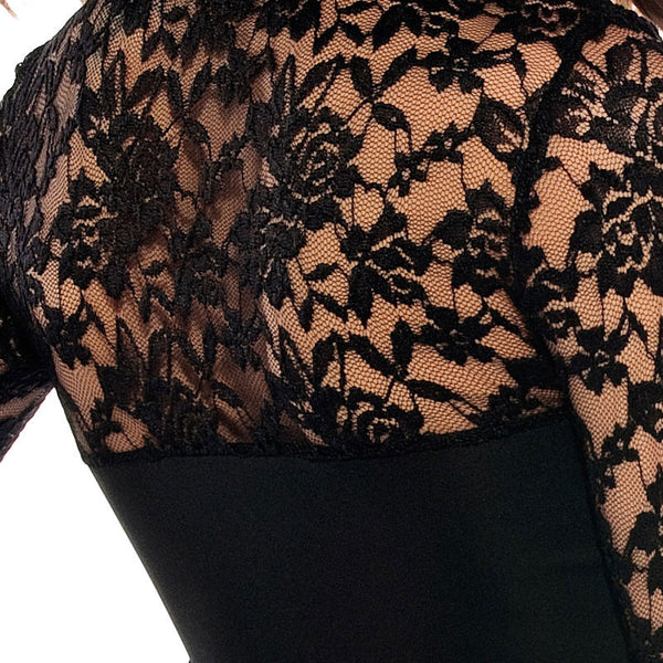Sexy New  Pierced Bottoming Lace Dress - lilyby
