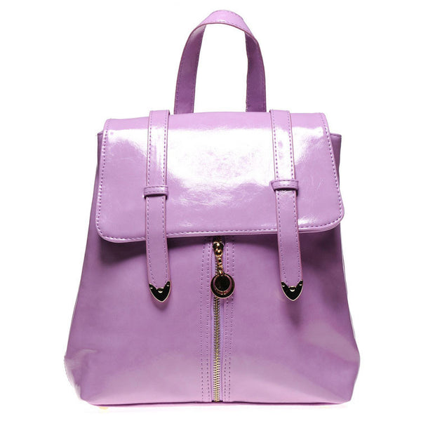 Cheap Double Arrow Candy-colored PU New Lady Backpack - lilyby