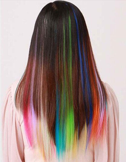 Many Colors Available Clip Hair Weft Extensions - lilyby