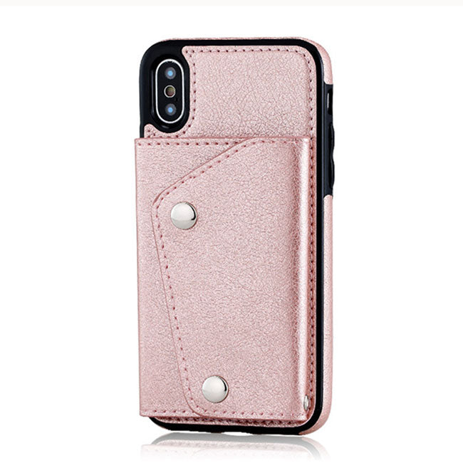 Unique Multi-functions Hatter-resistant Mobile Phone Case Support Card Iphonex Cases