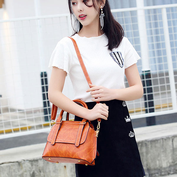 Fashion Women's Motorcycle Bag Portable Messenger Handbag Shoulder Bag