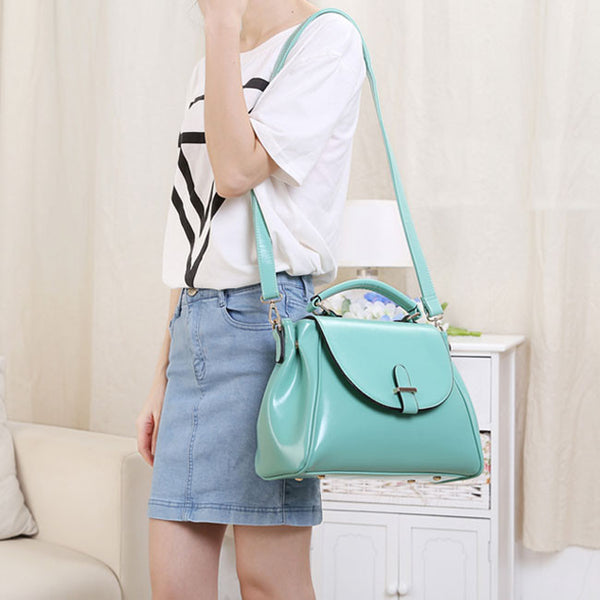 Fresh Mint Green Original Messenger Bags&Shoulder Bag - lilyby