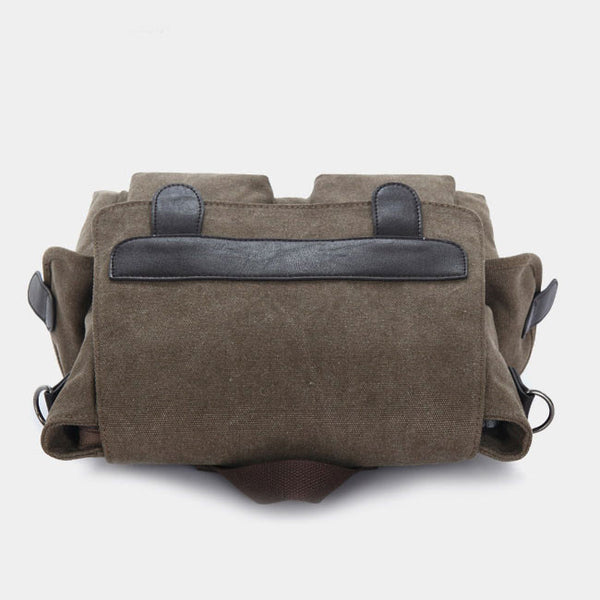 Retro Multifunction Canvas Backpack&Shoulder Bag&Handbag