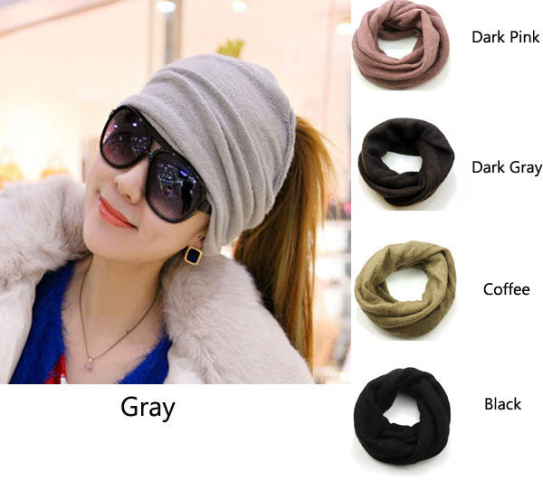 Unique Screw Cross Wool Hair Band Knitted Headband Scarf