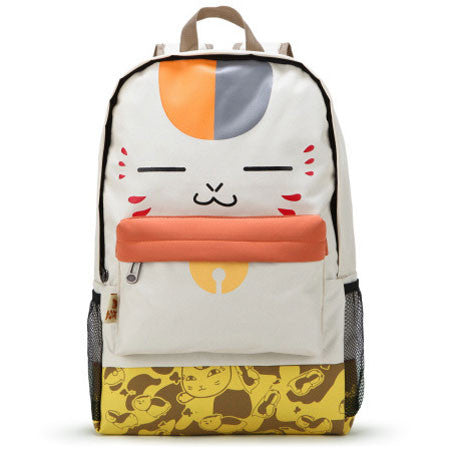 Cute Cartoon Cat Backpack College Large Capacity Shoulder Bag - lilyby