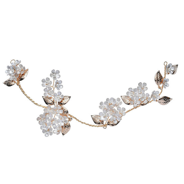 Fashion Original Bridal Hairpin Flower Branch Leaves Wedding Hair Accessories