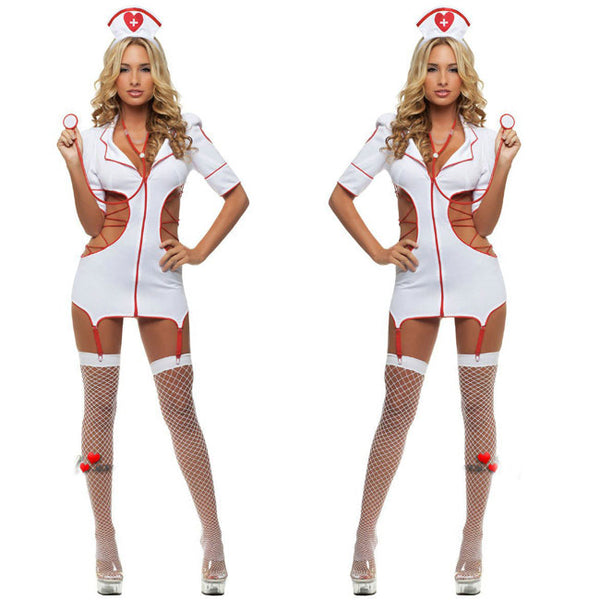 Sexy Nurse Uniform Women Cosplay Intimate Lingerie