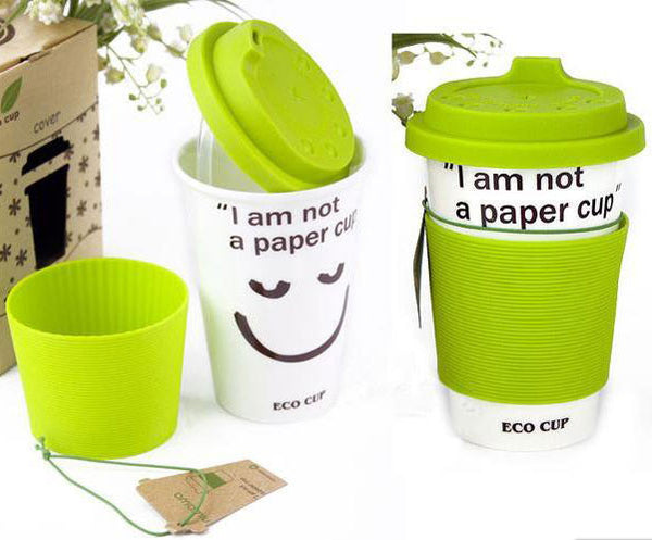 Originality Gift Letter Colorful Ceramic Coffee Cup - lilyby