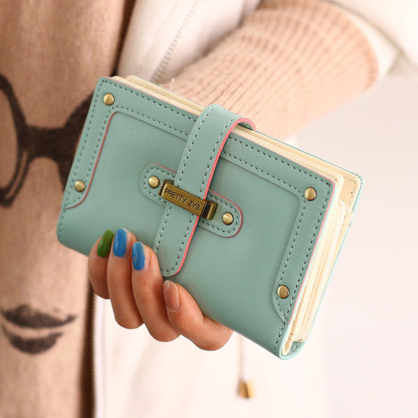 New Cartoon Lady Wallet Clutch Bag - lilyby