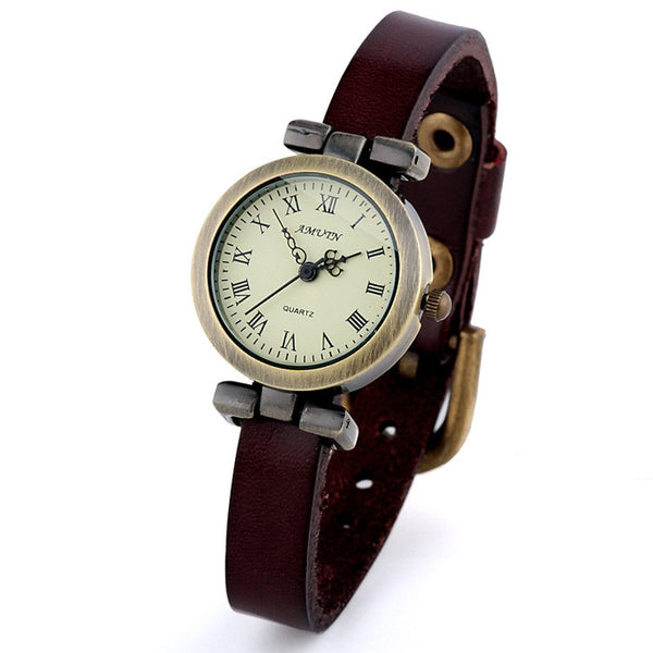 Retro Punk Crown Pointer Watch - lilyby