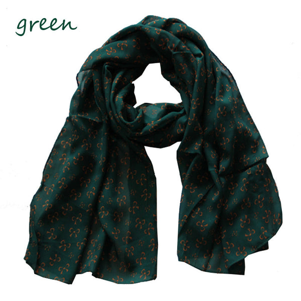 New Adorable Pretty chiffon Bowknot scarf - lilyby