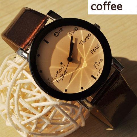 Cute Simple Black Border Watch - lilyby