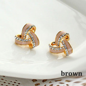 Bling Rhinestone New Earring Studs - lilyby