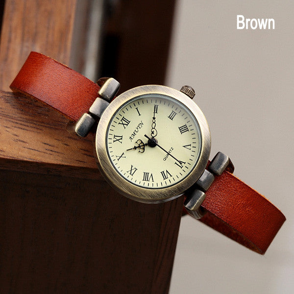 Retro Punk Crown Pointer Watch