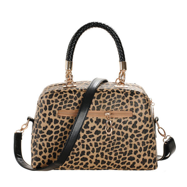 Graceful New Leopard Sequins Handbag & Shoulder Bag - lilyby