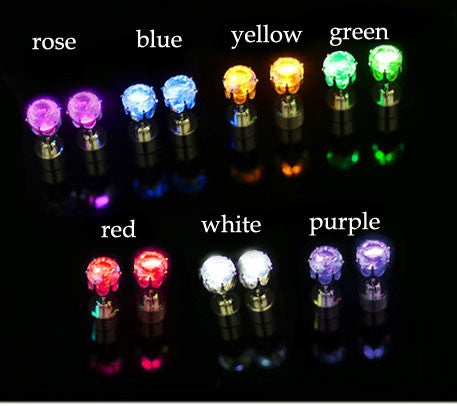 Originality Flash Led Light Earrings - lilyby