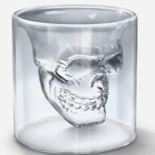 Originality Skull Shot Imprisoned Pirate Vodka Glass Cup - lilyby
