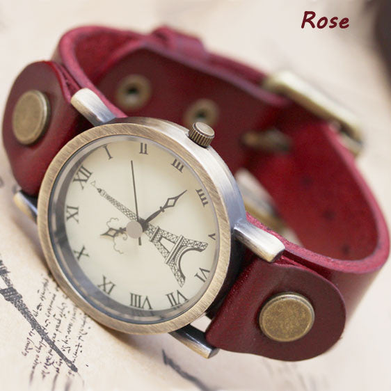 Retro Eiffel Tower retro watch - lilyby