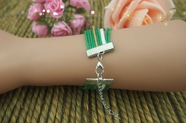 Latest Anchor Arrow Love Infinity Bracelet - lilyby