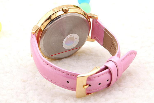 cartoon handmade polymer clay rhinestone trim New watch - lilyby