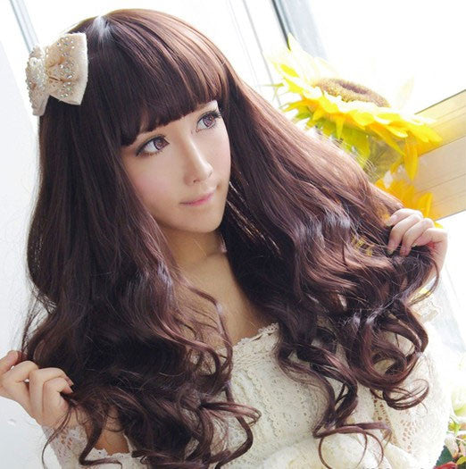 New Pretty Spiral Wavy Fiber Long Wigs - lilyby