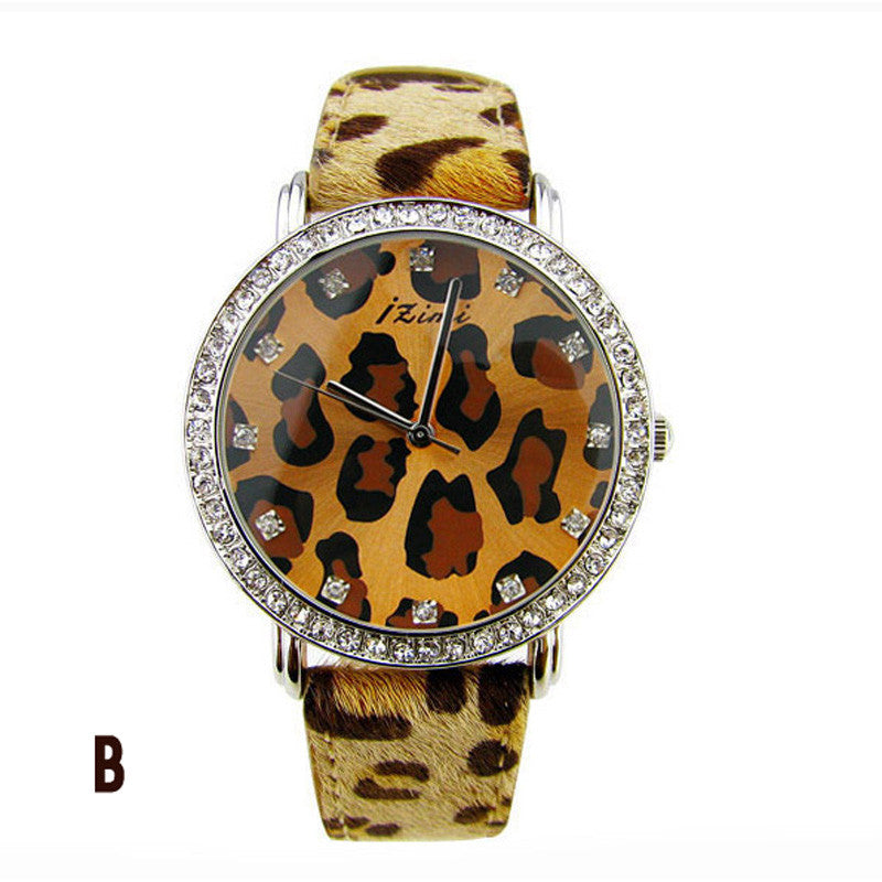Sexy and beautiful Leopard Print Watch - lilyby