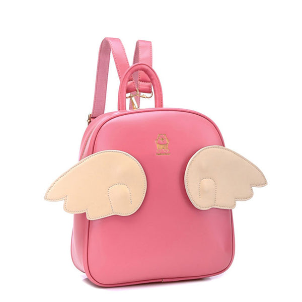 Fashion Casual Wing College Girls Backpacks - lilyby