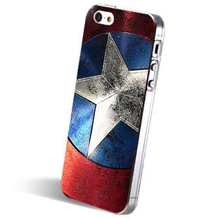 Unique Captain America Phone Case For IPhone 4/4s/5