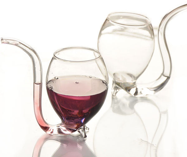 Crystal Clear Vampire 300ml Wine Glass Cup - lilyby