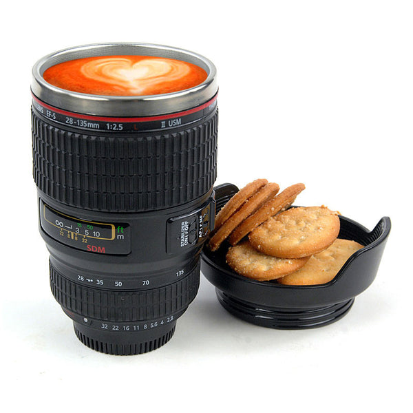 Unique Travel Camera Lens Mug