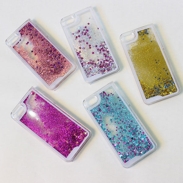 Cool Colored Star Flowing Sand IPhone Cases - lilyby