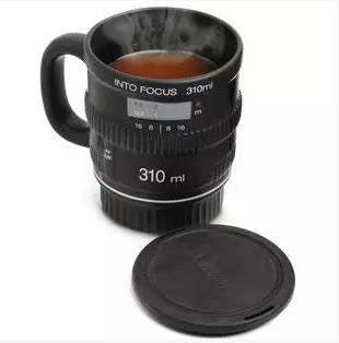 NIice Gift Camera Lens Mug Ceramics Cup - lilyby