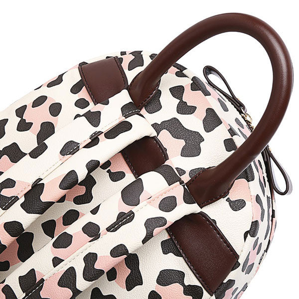 New Leopard Print Backpack Schoolbag - lilyby