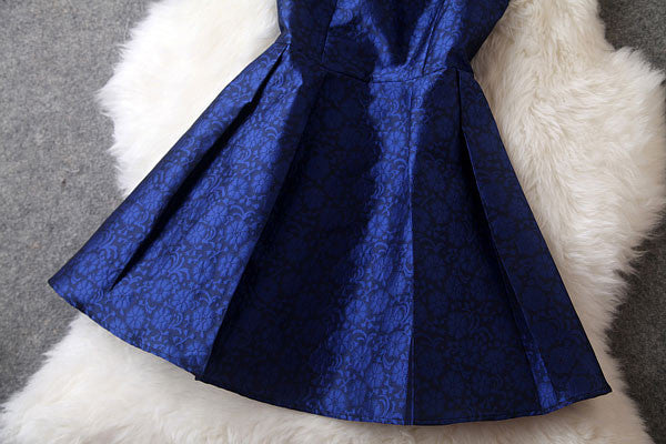 Retro Graceful Beaded Collar Prince Dress/Party Dress