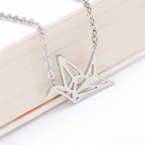 New Hollow Crane Bird Necklace/Girls Gift - lilyby