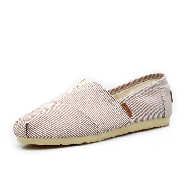 Influx Casual Style Canvas Lazy Shoes - lilyby