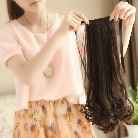 Long Lasting Pear Wavy Ponytail Hair - lilyby
