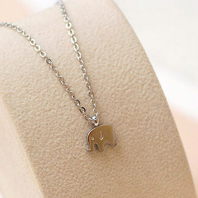 18K Gold Plated Elephant Necklace/Birthday Gift - lilyby
