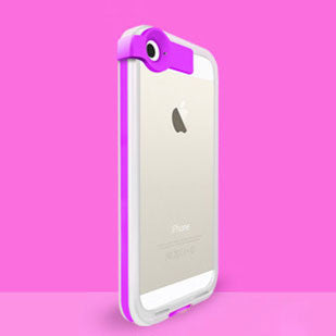 LED Flash Colorful Transparent Iphone 5/5s Case - lilyby