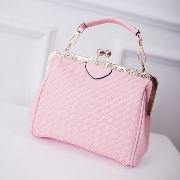 Classical Lock Weave Summer handbag - lilyby