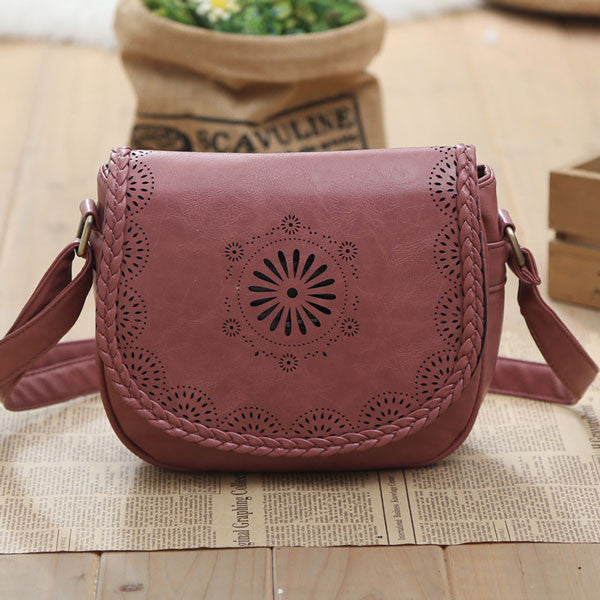 Latest Hollow School Messenger Bag Shoulder Bag - lilyby
