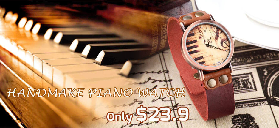 Music Piano watch
